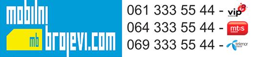 Mobilni brojevi